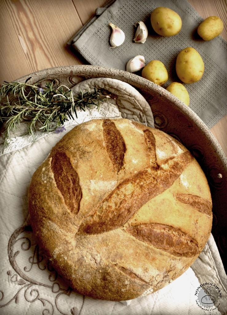 pane patate e rosmarino