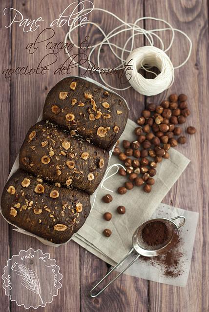 pane dolce al cacao e nocciole