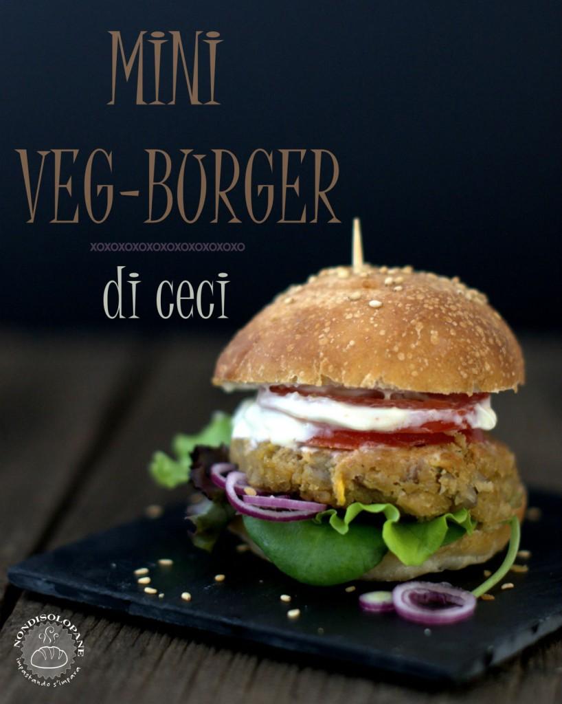 spesso Panini con pasta madre e mini veg-burger di ceci | NONDISOLOPANE HS83