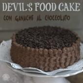 Nondisolopane - Devil's food cake con ganache al cioccolato