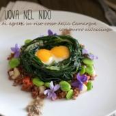 Nondisolopane - Un antipasto per il menù di Pasqua: Uova nel nido