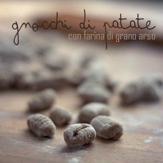 Nondisolopane - Gnocchetti di patate con grano arso