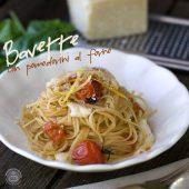Nondisolopane - Bavette con pomodorini al forno