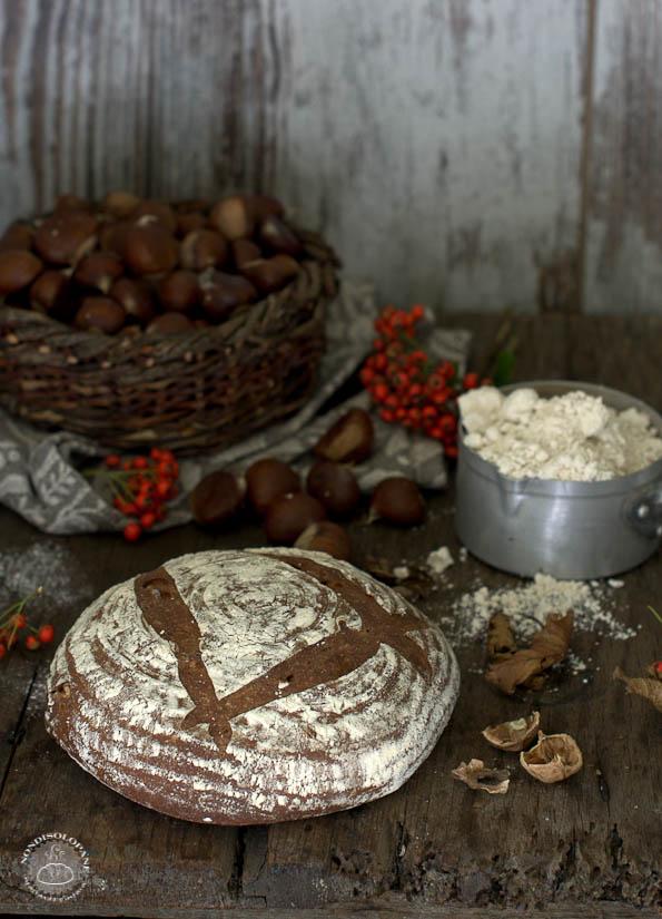 Pane Martino con farina di castagne e noci