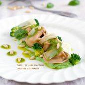 Nondisolopane - Tortelli di farina di castagne con patate e prescinsöa