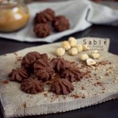 Nondisolopane - Sablè di frolla montata agli albumi con cacao