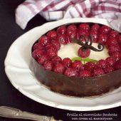 Nondisolopane - Frolla al cioccolato fondente con crema al mascarpone