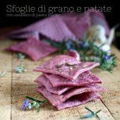 Nondisolopane - Sfoglie di grano e patate con esubero di pasta madre