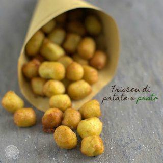 Nondisolopane - Frisceu di patate e pesto