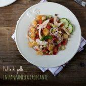 Nondisolopane - Petto di pollo in panzanella croccante e serata in vigna da Daniele Parma