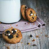 Nondisolopane - Cookies americani al farro con mirtilli