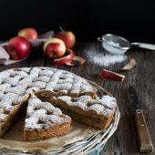 Nondisolopane - Crostata rustica di grano saraceno con confettura di mele