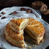 Nondisolopane - Galette de Rois con castagne, nocciole e cioccolato