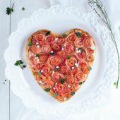 Nondisolopane - Crostata di ricotta e cocco con roselline di mele