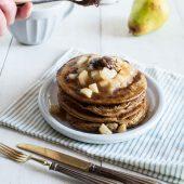 Nondisolopane - Pancake con crema di nocciole