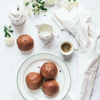 Nondisolopane - Panini dolci pere e cioccolato